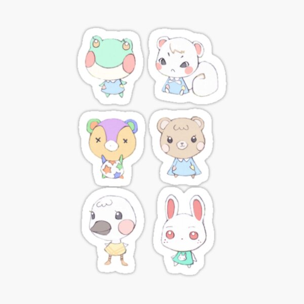 Animal Crossing Cuties Sticker