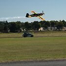 Plane Vs Car,Tyabb Airshow,Australia 2012 by muz2142
