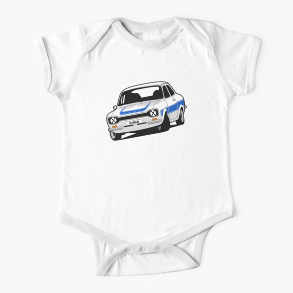 Ford Escort Mark 1 RS2000 Short Sleeve Baby One-Piece