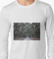 Wormsloe Plantation Savannah Long Sleeve T-Shirt