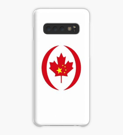 Chinese Canadian Multinational Patriot Flag Series Case/Skin for Samsung Galaxy