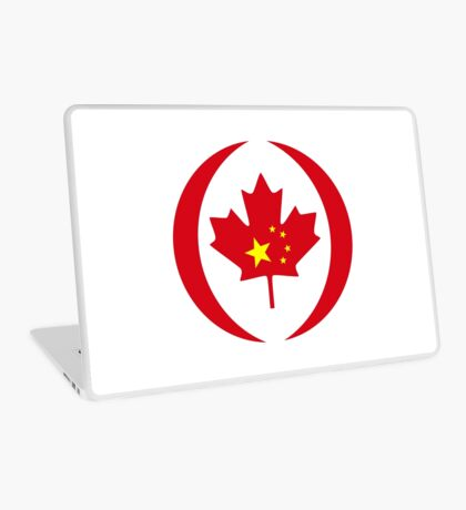 Chinese Canadian Multinational Patriot Flag Series Laptop Skin