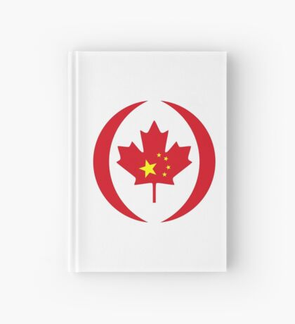 Chinese Canadian Multinational Patriot Flag Series Hardcover Journal