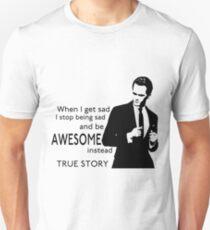 himym Barney Stinson Suit Up Awesome Unisex T-Shirt