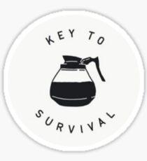 Coffe is Key Sticker