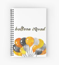 Cuaderno de espiral Escuadrón de globos