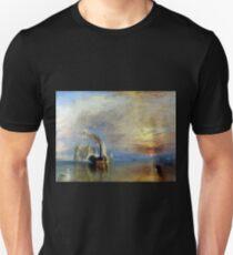 Joseph Mallord William Turner The Fighting Temeraire Unisex T-Shirt