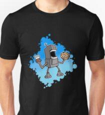 Cookie Coffee Robot Love T-Shirt