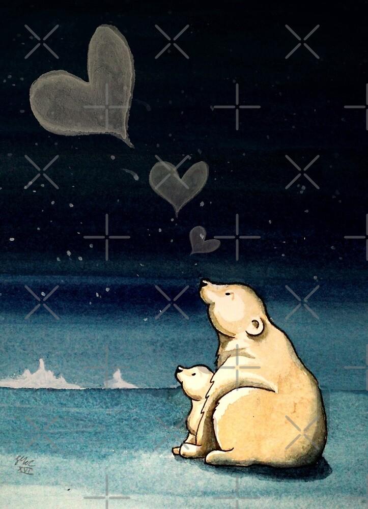 Polar Love by Sarah  Mac Illustration