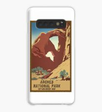 Arches National Monument Utah Moab Vintage Travel Decal Case/Skin for Samsung Galaxy