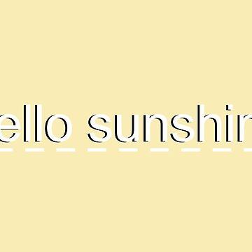 Sunshine by jinabean8