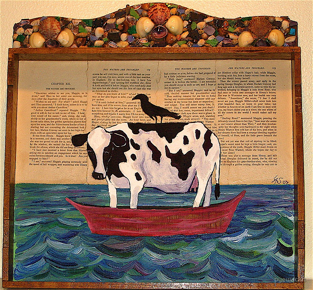 Cow over Troubled Water by pyewackit