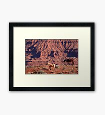 Once Upon a Western Dream Framed Print