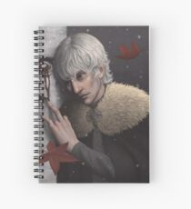Theon Greyjoy, The Prince of Winterfell Spiral Notebook