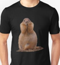 Prairie Dog Funny Expression Unisex T-Shirt