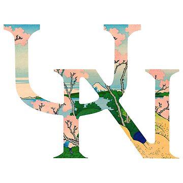 UN Logo, Fuji Ver. by Tazberry