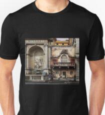 Building Facades, Rome Unisex T-Shirt