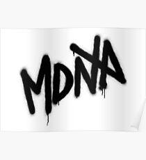 MDNA Tag (Black) Poster