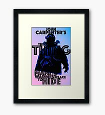 THE THING 31 Framed Print