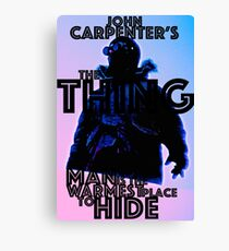 THE THING 31 Canvas Print