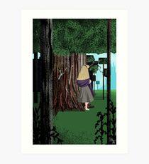 Earle Woods Art Print