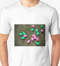 Pink And Green Eggs Unisex T-Shirt