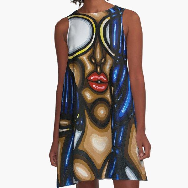 CONFIDENCE  A-Line Dress