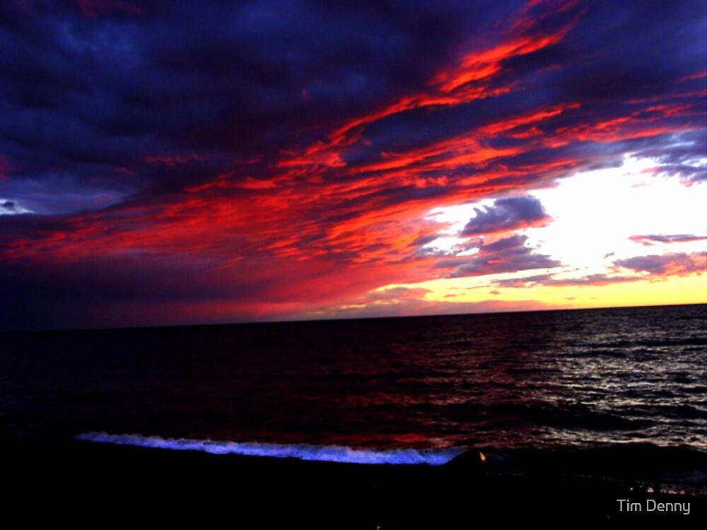 Red Sky at Night by Tim Denny