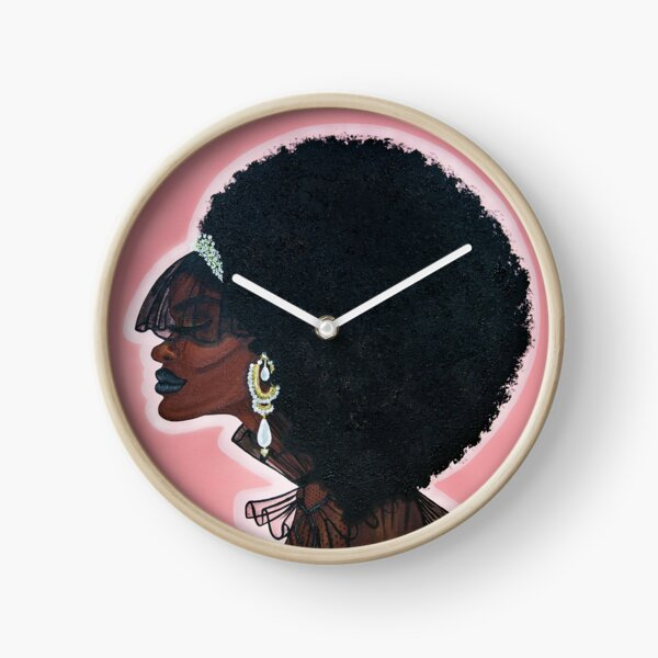 LOVE DON'T LIVE HERE ANYMORE Clock