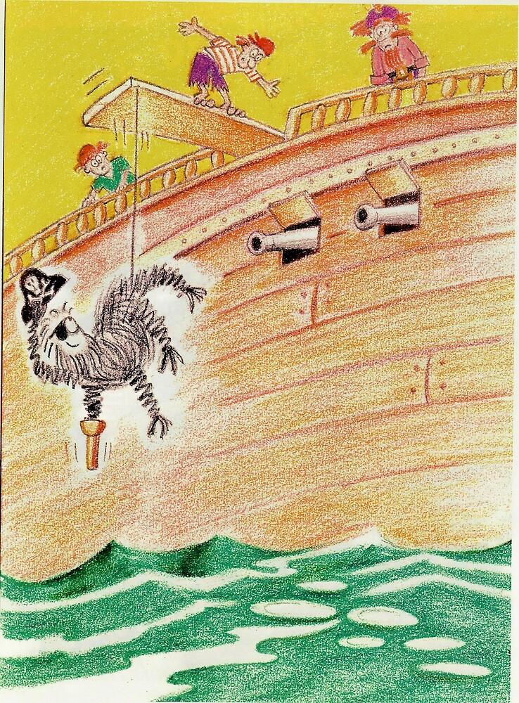 Peg Leg McDuff - The Salty Sea Spider by Gary  Crandall