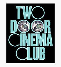 Two Door Cinema Club Photographic Print