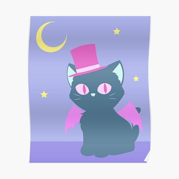Kitty Cat Bat Poster