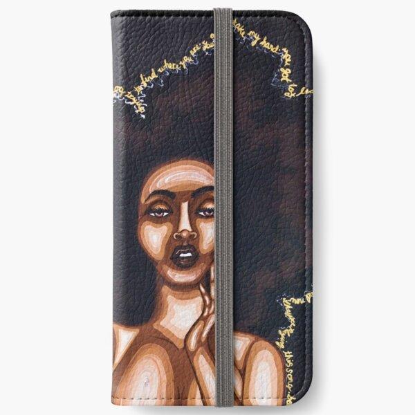 BEAUTY IN THE DARK iPhone Wallet