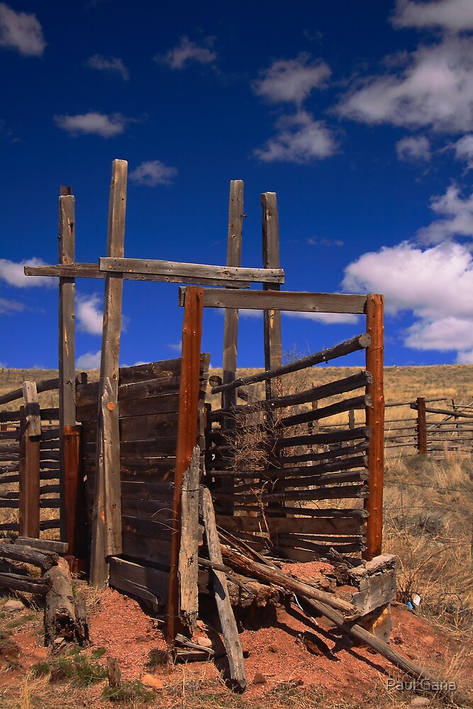 Old Corral by Paul Gana