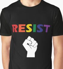 Queer Resistance Graphic T-Shirt