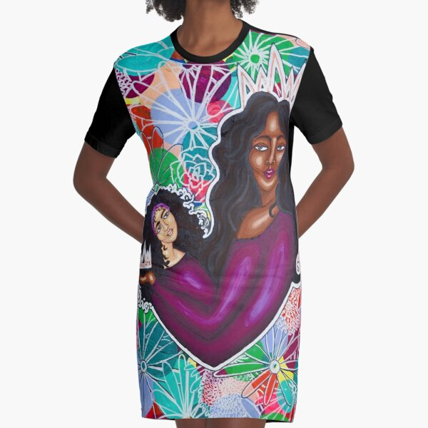 FROM MOM WITH LOVE Graphic T-Shirt Dress