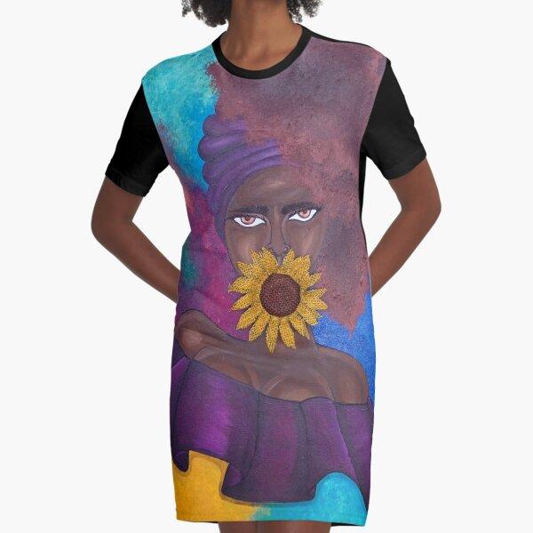SPEAK NO EVIL Graphic T-Shirt Dress