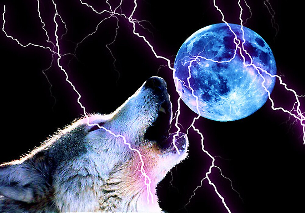 electric howl by CheyenneLeslie Hurst