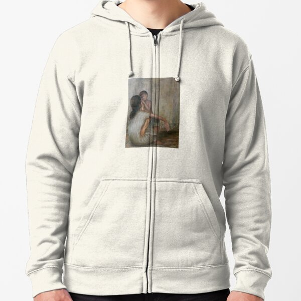 Drying Mother's Tears Zipped Hoodie