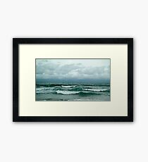 Motion of the Ocean Framed Print