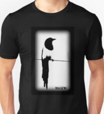 Magpie Black and White T-shirt T-Shirt