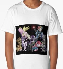 Nightmare Night Ponies Long T-Shirt