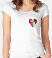 A very Moleman Valentine's Women's Fitted Scoop T-Shirt