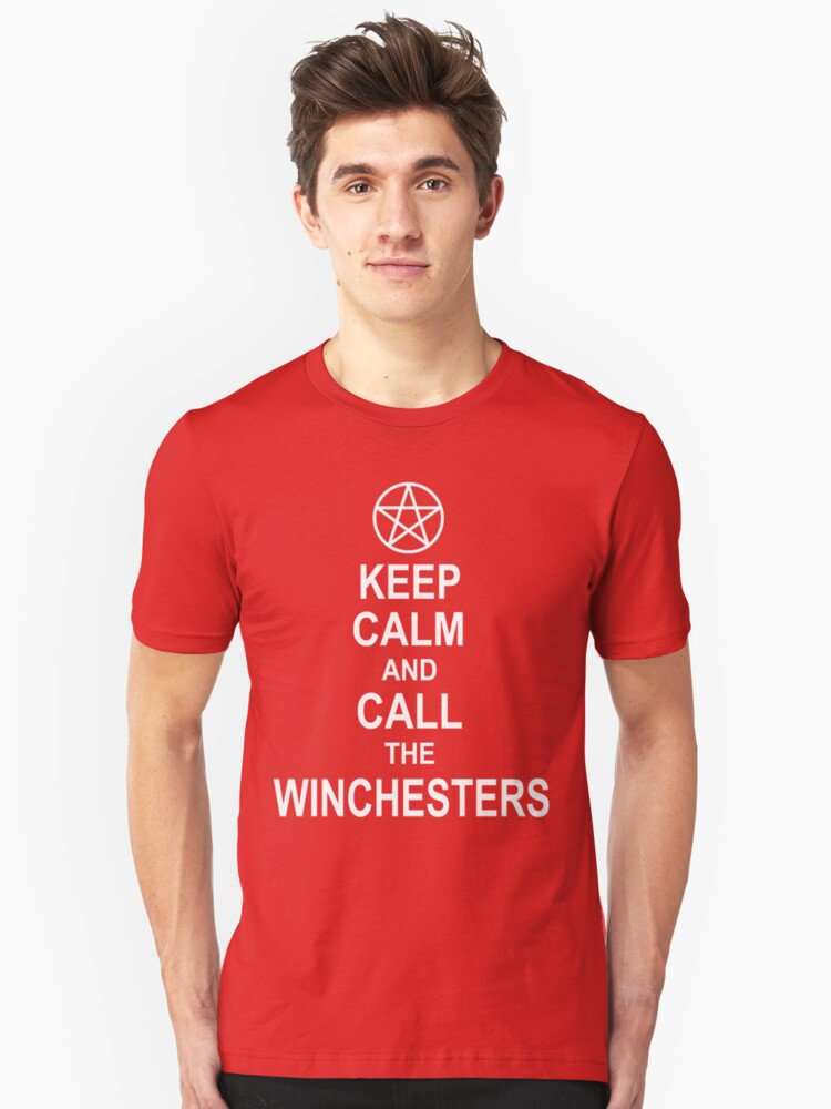 Keep Calm And Call The Winchesters Unisex T-Shirt Front