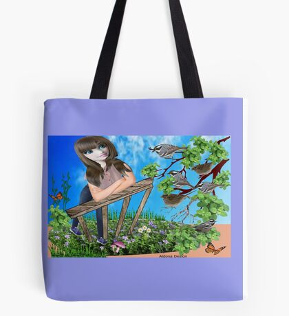 Message from the birds ( 797 Views) Tote Bag