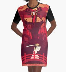 Gotta Get Back to the Past Graphic T-Shirt Dress