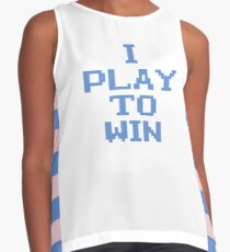I PLAY TO WIN Contrast Tank