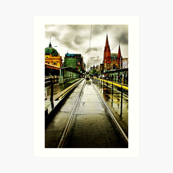 Princes Bridge Art Print