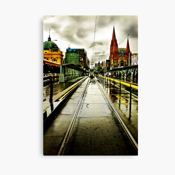 Princes Bridge Canvas Print