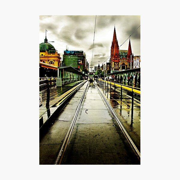 Princes Bridge Photographic Print